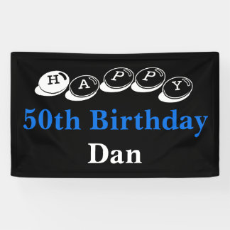 50th Birthday Banner Sale