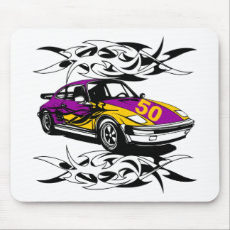 50th Birthday Car Gifts! Mouse Mat