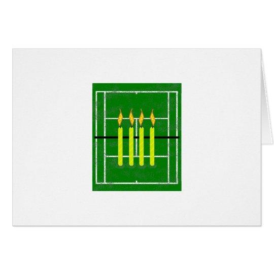 50th Birthday Card by Lake Tennis