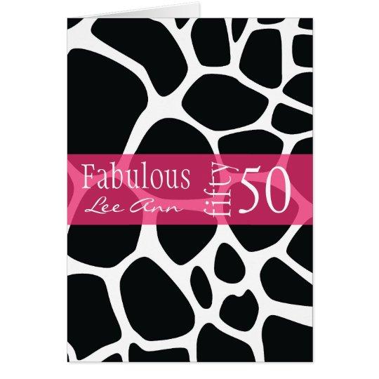 50th Birthday Card for Baby Boomer Women