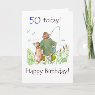 50th Birthday Fishing Gifts Gift Ideas
