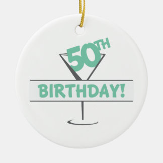 50Th Birthday! Christmas Ornament
