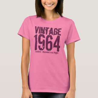 50th Birthday Gift 1964 Blended Just Right v02 T-Shirt