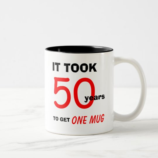 50th Birthday Gift Ideas for Men Mug -