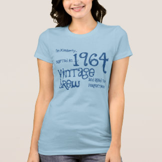 50th Birthday Gift Vintage Brew Crafted in 1964 T-Shirt