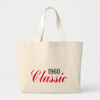 50th birthday gifts, 1960 Classic! Canvas Bags