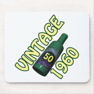50th Birthday Gifts, 1960 Mouse Mat