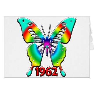50th Birthday Gifts, 1962 Greeting Card