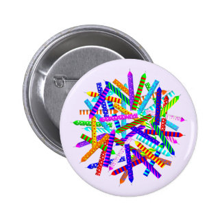 50th Birthday Gifts 6 Cm Round Badge