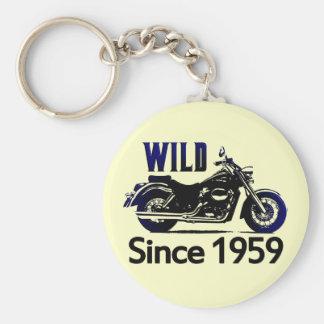 50th Birthday Gifts Basic Round Button Key Ring