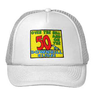 50th Birthday Gifts Hats