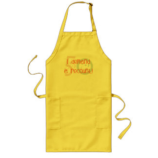 50th birthday gifts, I demand a recount! Long Apron