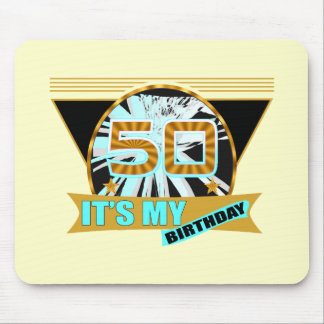 50th Birthday Gifts Mouse Mats