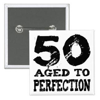 50th Birthday Gifts! Pinback Button