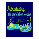 50th Birthday Gifts Postcards