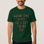 50th Birthday Gifts Tee Shirts