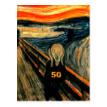 50th Birthday Gifts, The Scream 50!