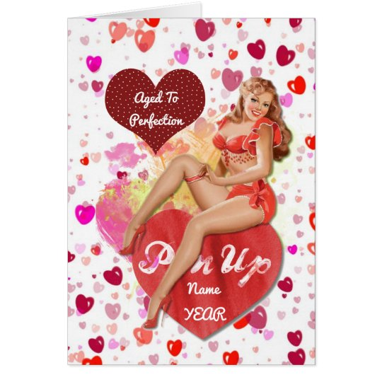 50th Birthday HER Gifts n Partyware Customisable Card