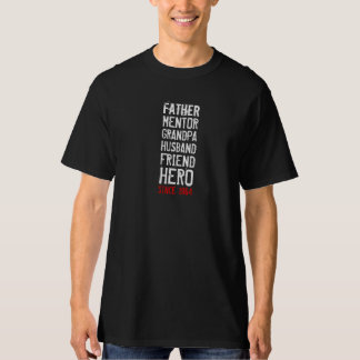50th Birthday Hero Party Shirt for Him