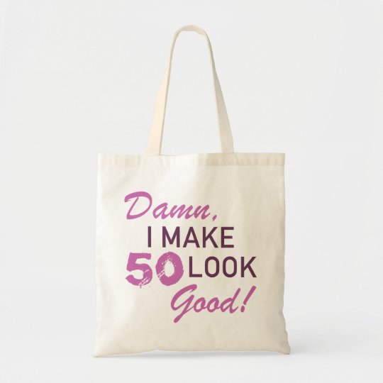 50th Birthday Humour Tote Bag