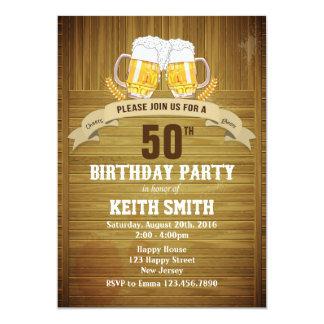 50th Birthday Invitation - Any Age