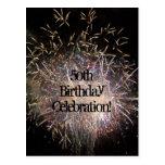 50th Birthday Invitation Postcard (Customise)