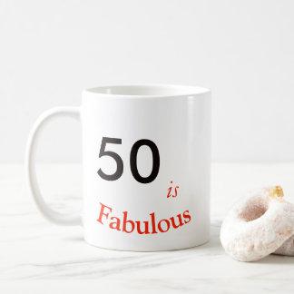 50th Birthday Mug. Coffee Mug