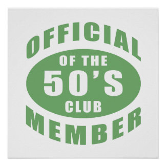 50th Birthday Official Member Poster