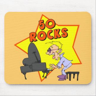 50th Birthday Rocks Mousepad