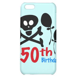 50th Birthday Skull Crossbones iPhone 5C Cover