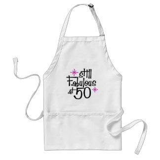 50th Birthday Standard Apron