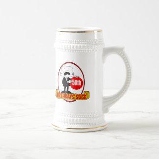 50th Birthday Sucks Gifts Coffee Mug