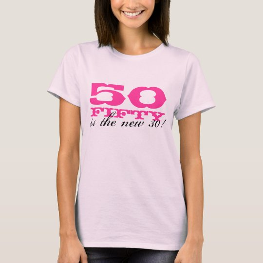 50th Birthday t shirt for women | 50