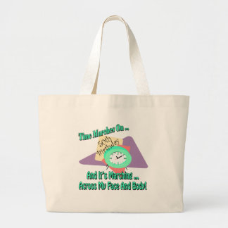 50th Birthday T-shirts and Gifts Jumbo Tote Bag