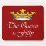 50th birthday The Queen is 50! Mousemats