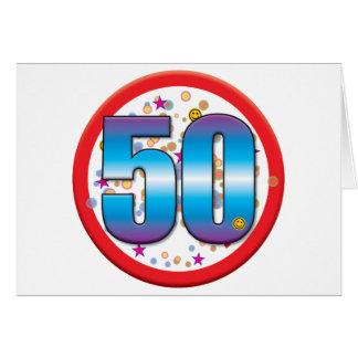 50th Birthday v2 Card