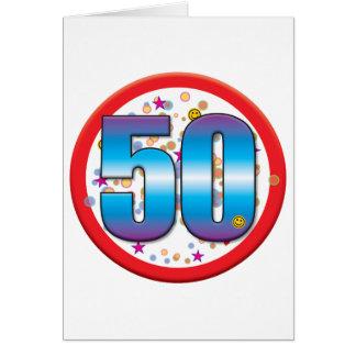 50th Birthday v2 Cards