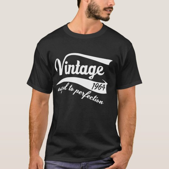 50th birthday vintage aged to perfection white T-Shirt