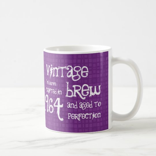 50th Birthday Vintage Brew or Any Year V01F