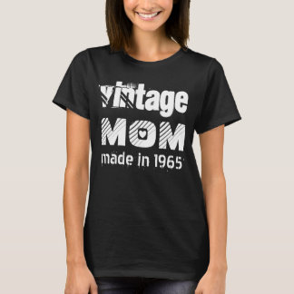 50th Birthday Vintage MOM 1965 or ANY YEAR V4 T-Shirt