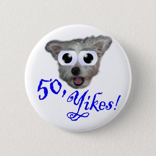 50th Button