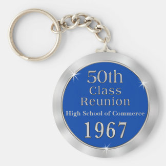 50th Class Reunion Gifts for Class of 1967 Key Ring