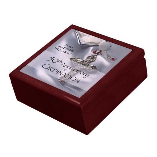 50th Custom Name Ordination Anniversary Chalice Gift Box