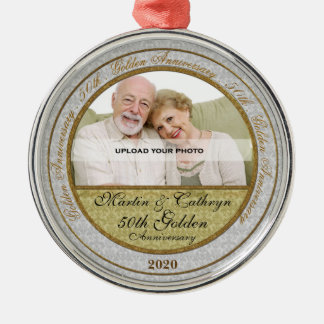 50th Golden Anniversary | Photo Ornament