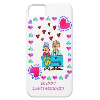 50th golden wedding anniversary, iPhone 5 cases