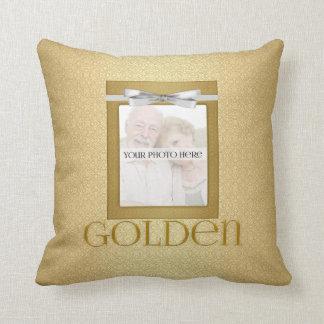 50th Golden Wedding Annivsersary  Photo Cushion