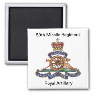 50th Missile Regiment RA Magnet
