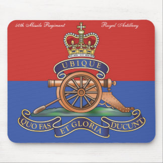 50th Missile Regiment RA Mouse Mat