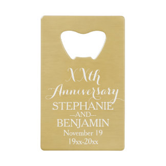 50th or Other Wedding Anniversary Personalized