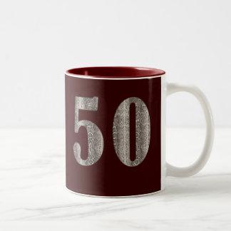 50th Snakeskin Coffee Mug